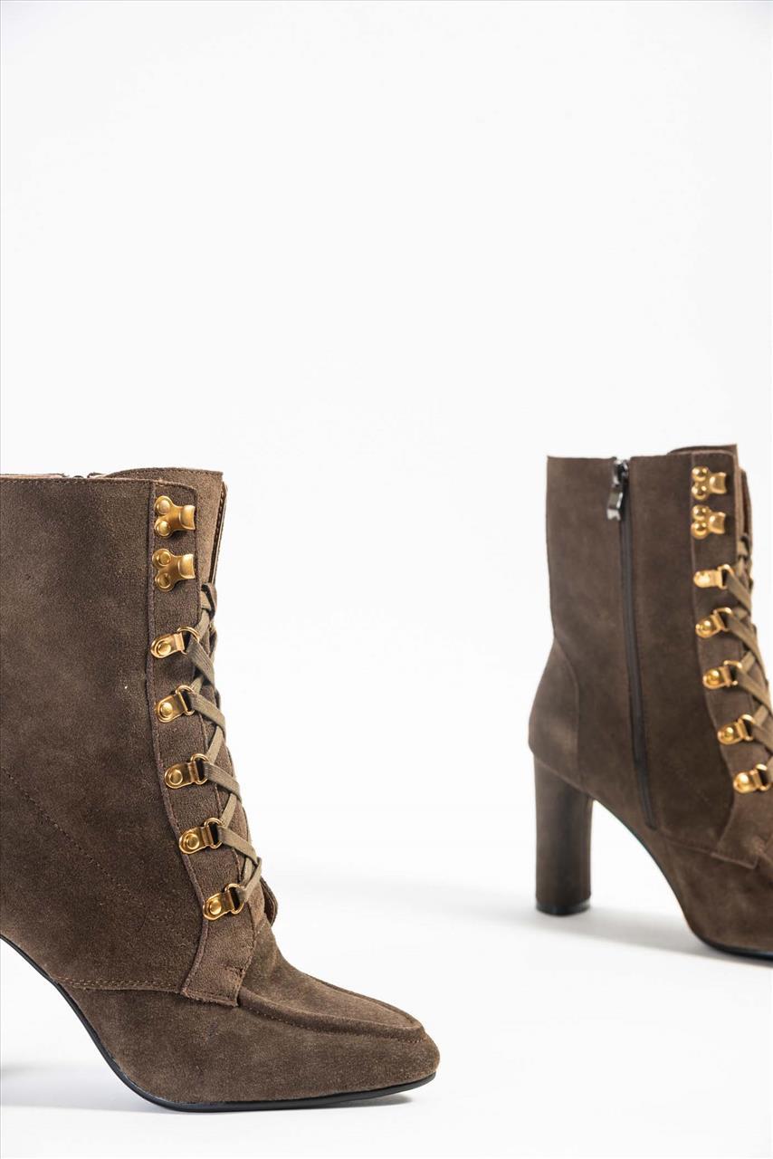 c8417b175d Γυναικεία Δερμάτινα Μποτάκια - Zakro Shoes