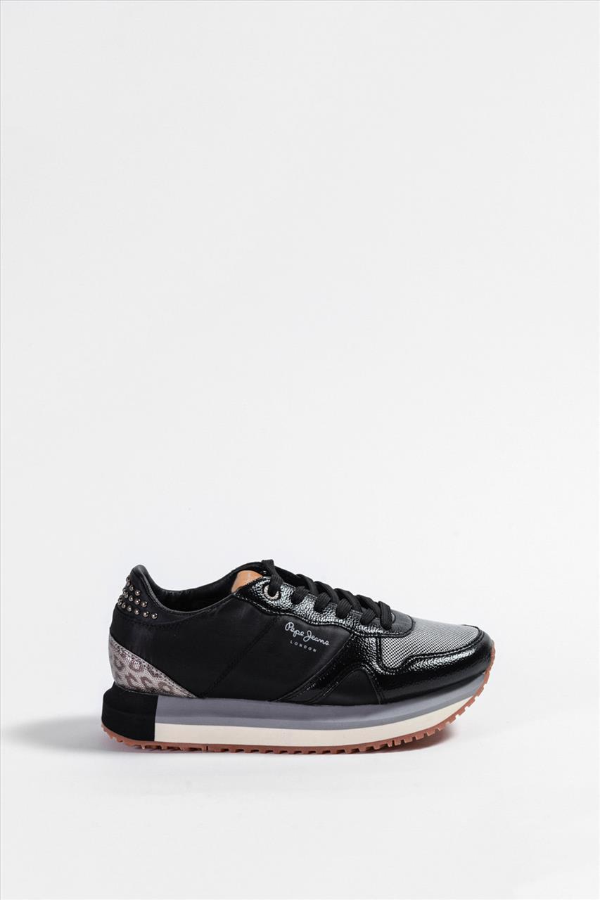 Γυναικεία Casual Shoes PEPE JEANS - PLS 30787 ΜΑΥΡΟ