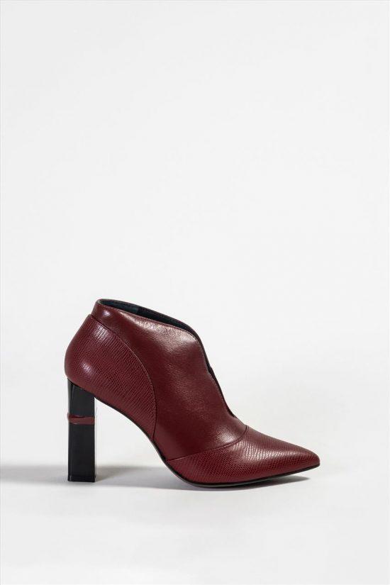 Δερμάτινα Ankle Boot
