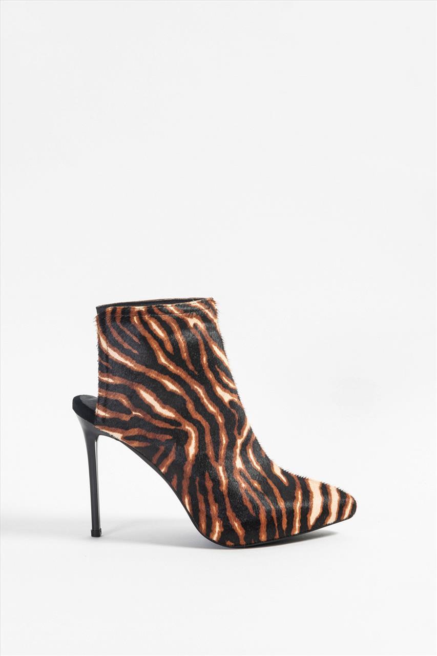 2154ee7095 Jeffrey Campbell 0101002162 Γυναικεία Δερμάτινα Μποτάκια - Zakro Shoes