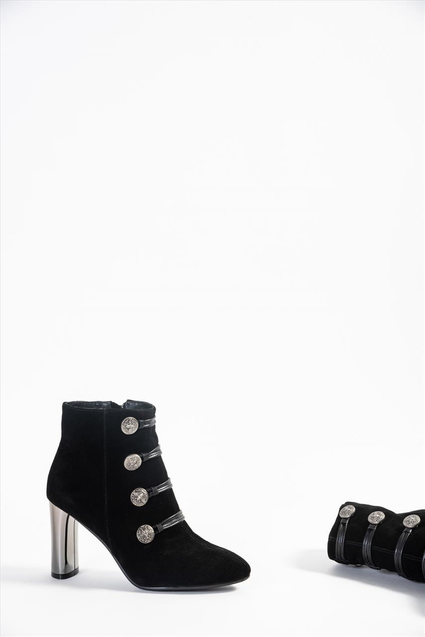 5fa04f9c9b Favela 0116000426 Γυναικεία Δερμάτινα Μποτάκια - Zakro Shoes