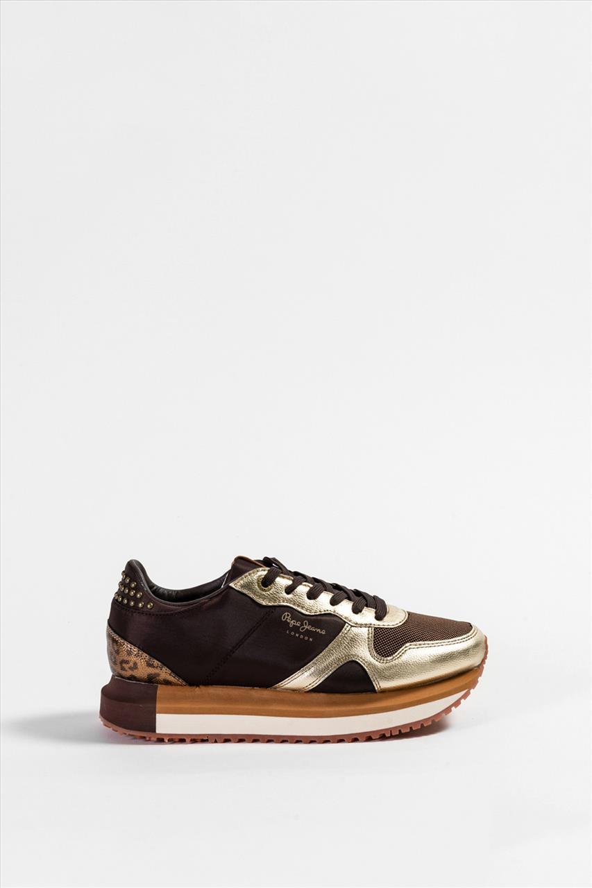 Γυναικεία Casual Shoes PEPE JEANS - PLS 30787 ΚΑΦΕ