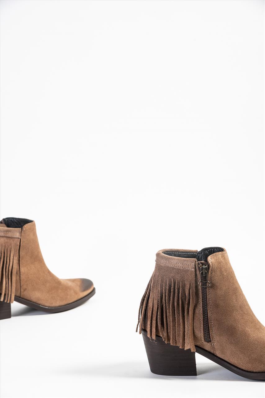 8f30ed5199 Favela 0116000347 Γυναικεία Δερμάτινα Μποτάκια - Zakro Shoes