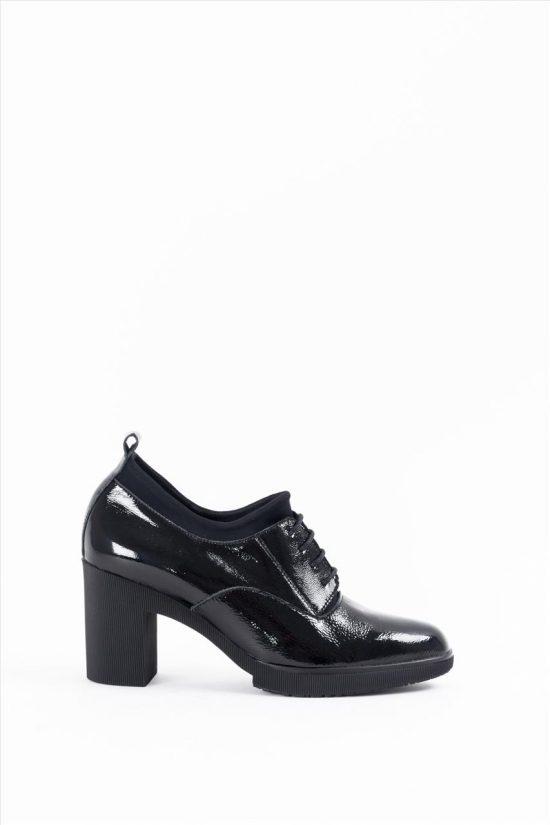 Γυναικεία Δερμάτινα Aνατομικά Ankle Boot