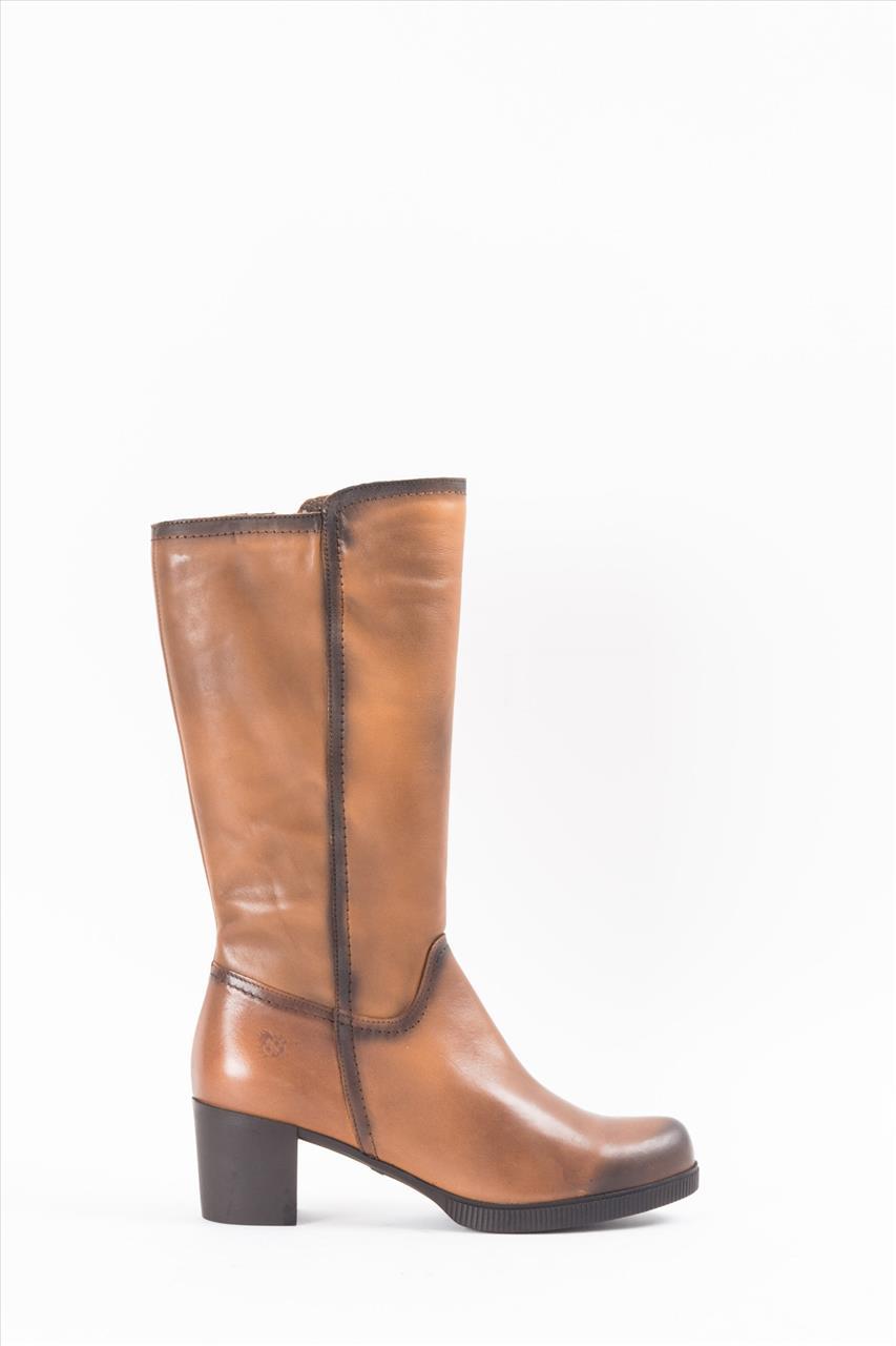 33d0acb6ca Yokono DANA 006 Γυναικείες Δερμάτινες Μπότες - Zakro Shoes