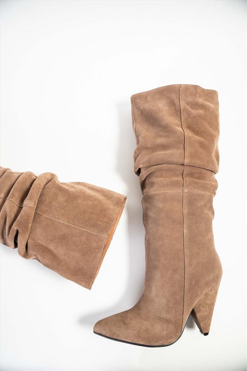 e52eaead3c Γυναικείες Δερμάτινες Μπότες - Zakro Shoes