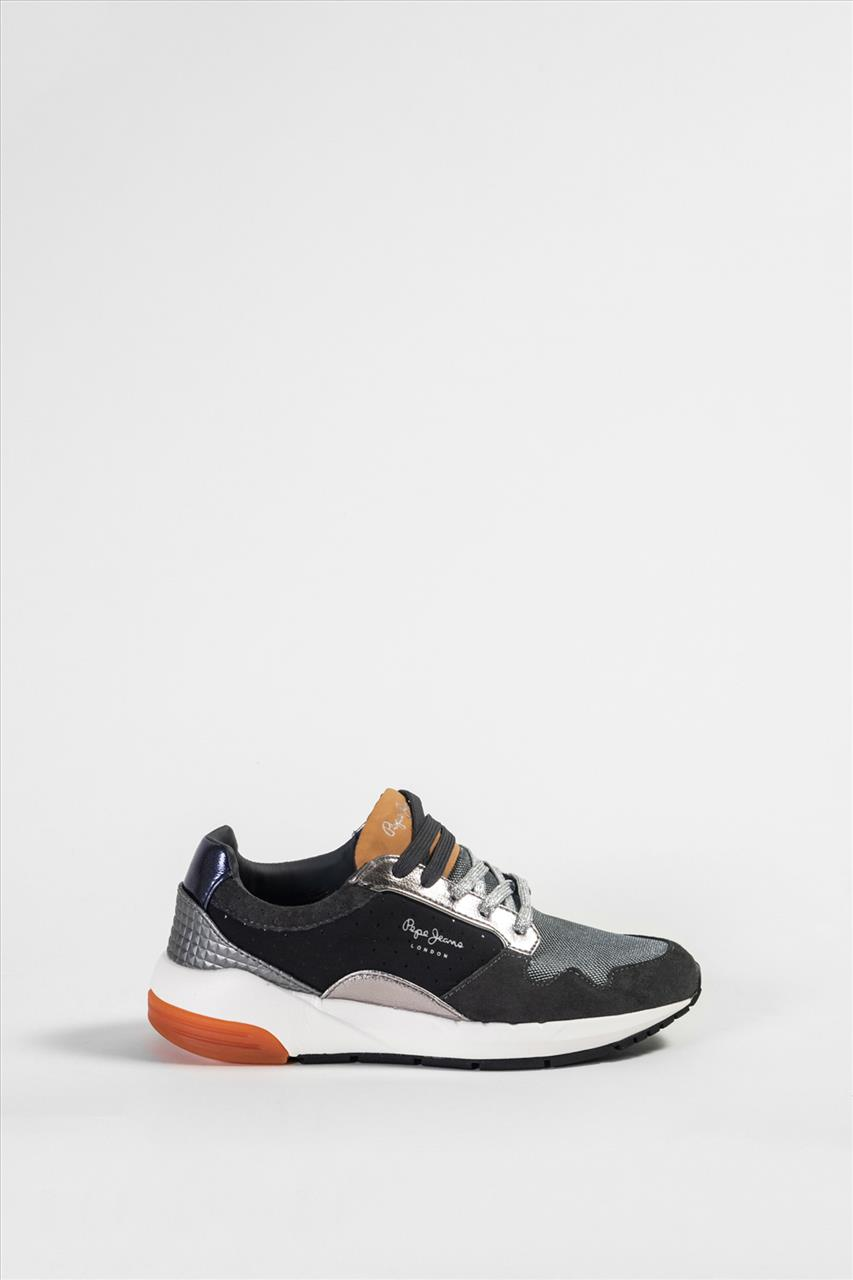 Γυναικεία Δερμάτινα Casual Shoes PEPE JEANS - PLS 30680 ΑΝΘΡΑΚΙ