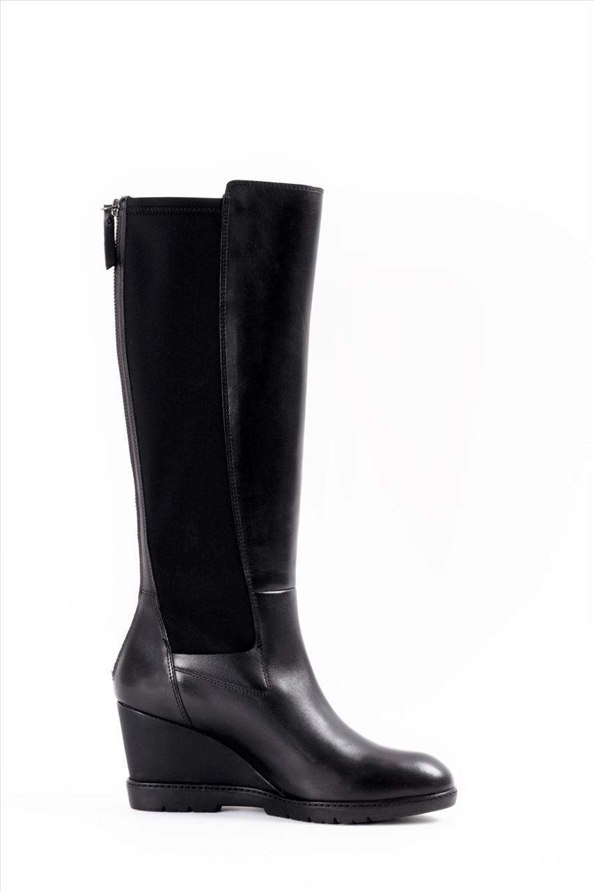 6d8b4c70ec Geox JILSON Γυναικείες Δερμάτινες Μπότες - Zakro Shoes