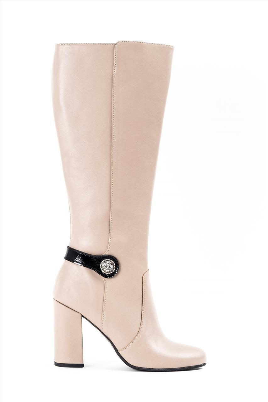 64fb7b1d3a Zakro Collection 706 Γυναικείες Δερμάτινες Μπότες - Zakro Shoes