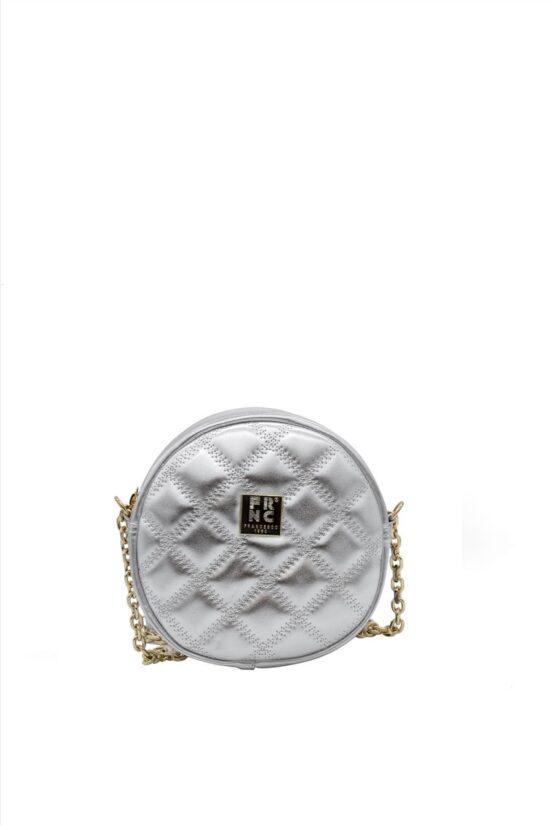Γυναικεία Τσάντα Ώμου FRNC WALL026 SILVER