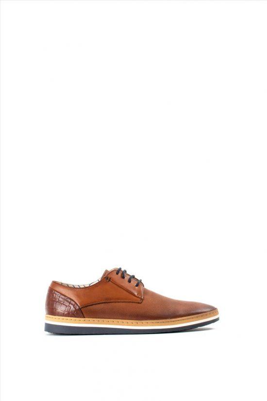 Aνδρικά Δερμάτινα Δετά Παπούτσια COXX BORBA - MNEWMAROTA
