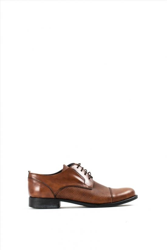 Aνδρικά Δερμάτινα Δετά Παπούτσια LA PELLE 434/151