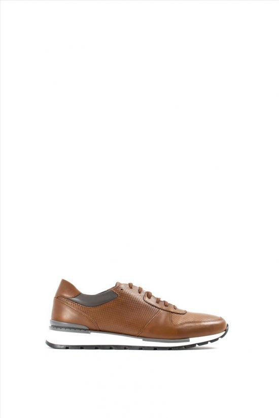 Ανδρικά Δερμάτινα Casual Shoes KALT 911-1 CAMEL