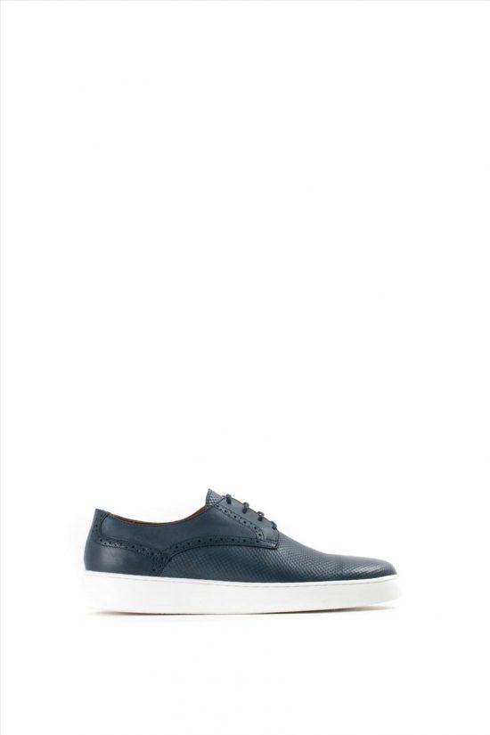Ανδρικά Δερμάτινα Casual Shoes KALT 452-1 BLUE