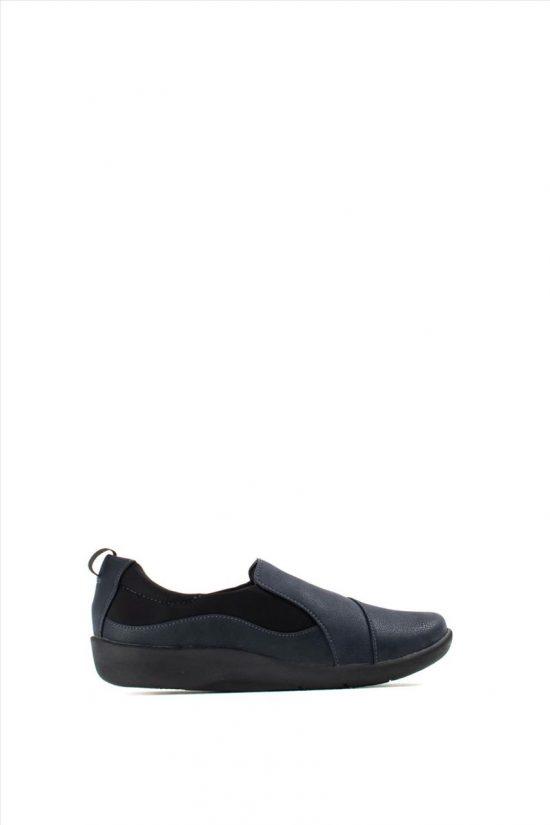 Γυναικεία Ανατομικά Παπούτσια CLARKS SILLIAN PAZ NAVY
