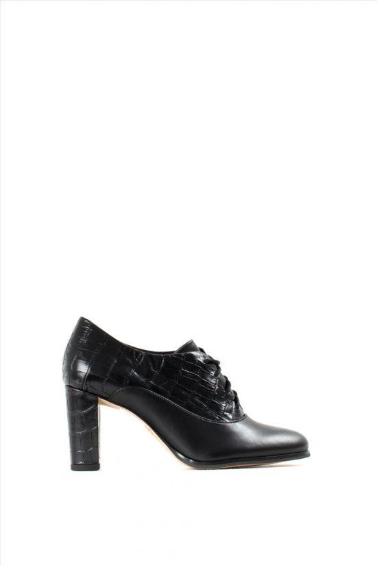 Γυναικεία Δερμάτινα Ankle Boots CLARKS KAYLIN IDA BLACK COMBI
