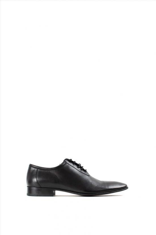 Ανδρικά Δερμάτινα Δετά Παπούτσια VICE 4120 BLACK