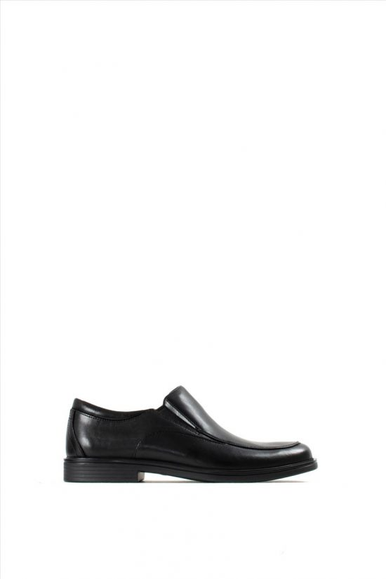 Ανδρικά Δερμάτινα Loafers CLARKS UN ALDRIC WALK BLACK LEATHER