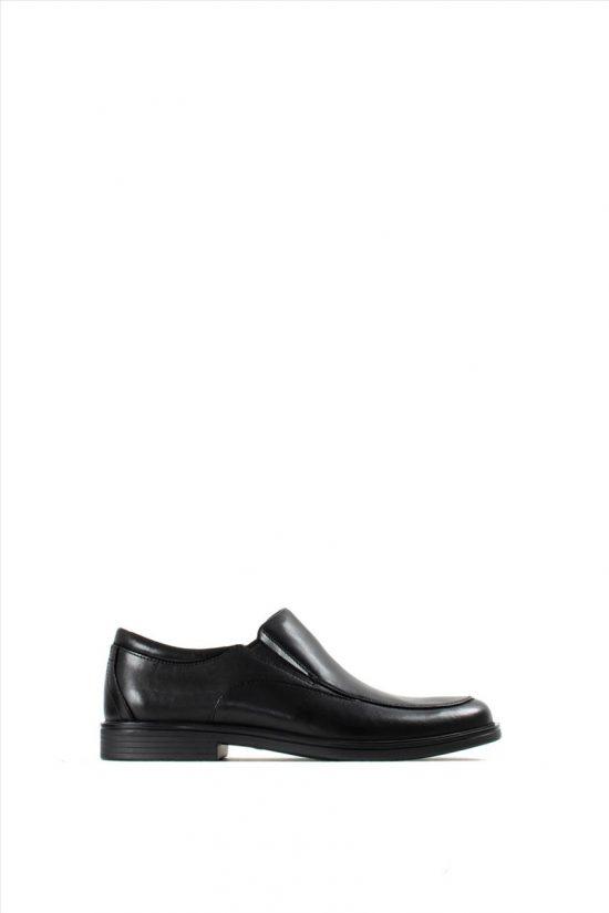 Ανδρικά Δερμάτινα Loafers CLARKS UN ALDRIC WALK BLACK LEATHER