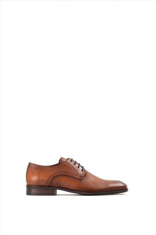 Ανδρικά Δερμάτινα Δετά Παπούτσια VICE 21144 TABA