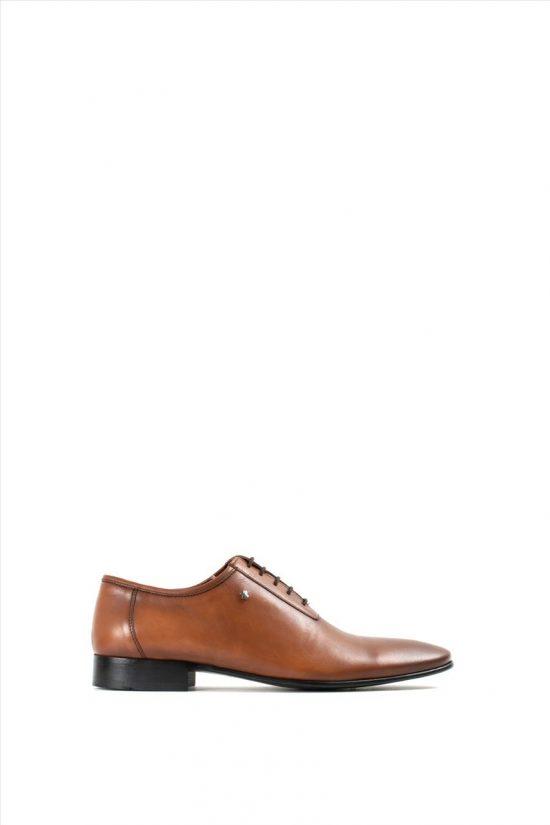Ανδρικά Δερμάτινα Δετά Παπούτσια VICE 14Y 4120 TABA