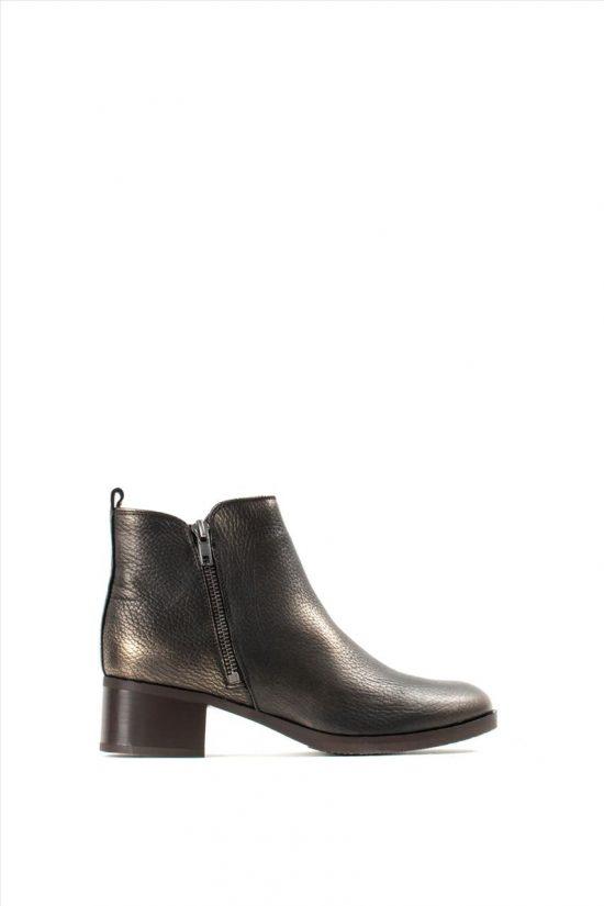 Γυναικεία Δερμάτινα Ankle Boots CLARKS MILA SKY BRONZE