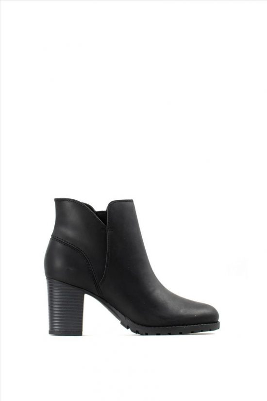Γυναικεία Δερμάτινα Ankle Boots CLARKS VERONA TRISH BLACK LEATHER