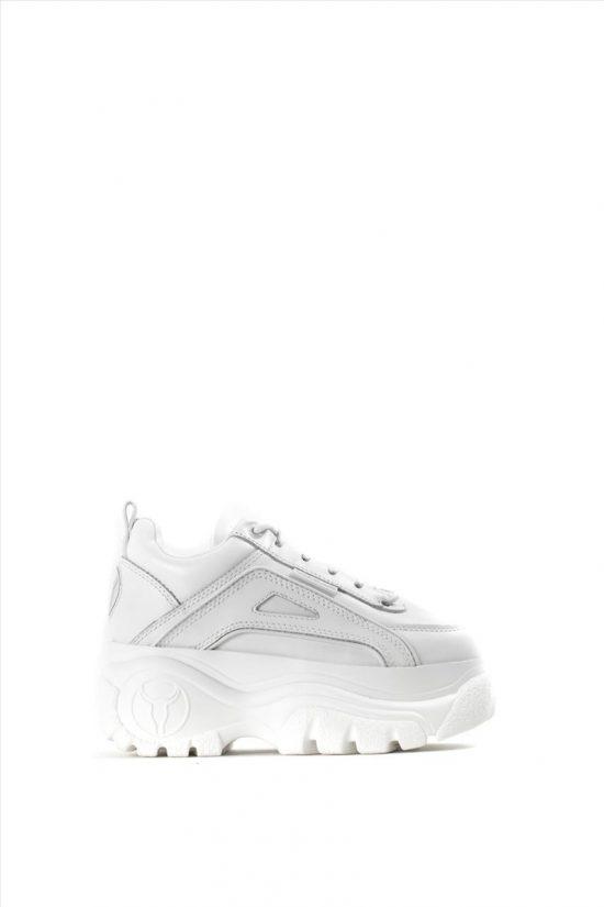 Γυναικεία Δερμάτινα Casual Shoes WINDSOR SMITH LUPE 0112000468 WHITE