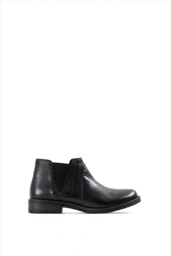 Γυναικεία Δερμάτινα Ankle Boots CLARKS DEMI BEAT BLACK LEATHER
