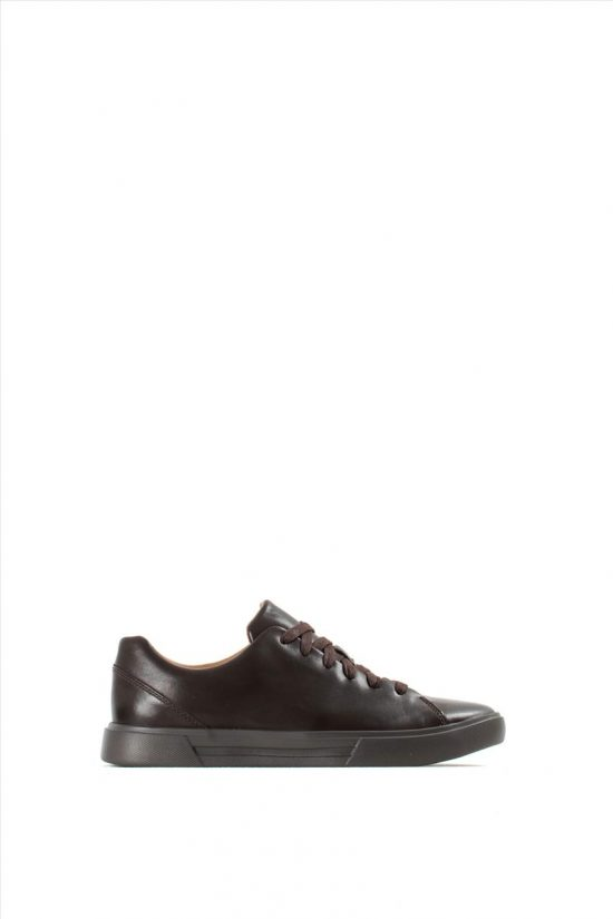 Ανδρικά Δερμάτινα Casual Shoes CLARKS UN COSTA LACE BROWN LEATHER