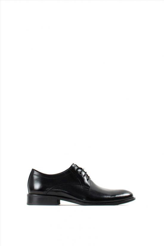 Ανδρικά Δερμάτινα Δετά Παπούτσια DAMIANI 20-01-197 BLACK