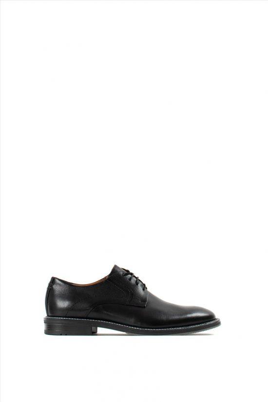 Ανδρικά Δερμάτινα Δετά Παπούτσια DAMIANI 20-01-352 BLACK