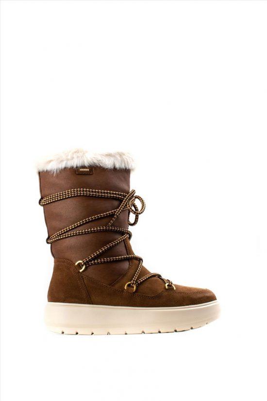 Γυναικείες Δερμάτινες Μπότες GEOX KAULA D94AWC 022GH C6777