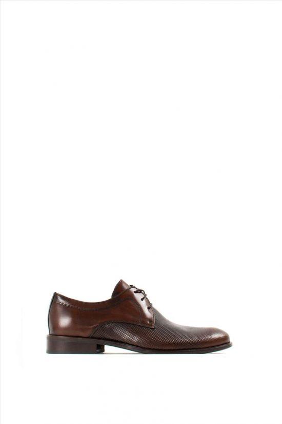 Ανδρικά Δερμάτινα Δετά Παπούτσια DAMIANI 20-04-192 BROWN