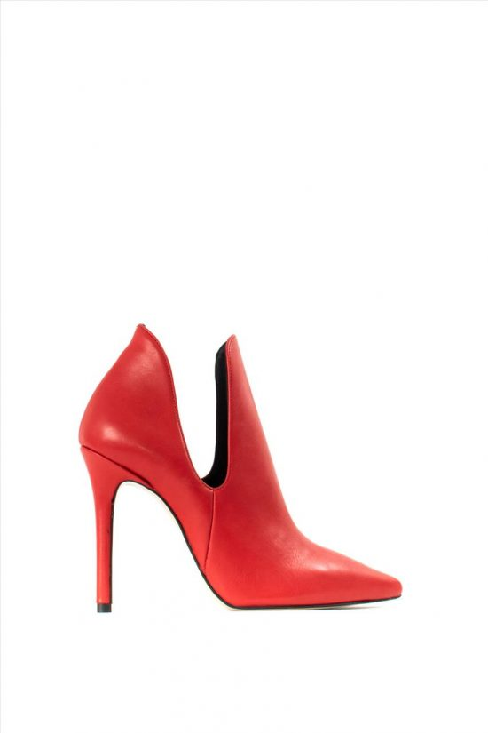 Γυναικεία Ankle Boots SANTE 19-626 RED