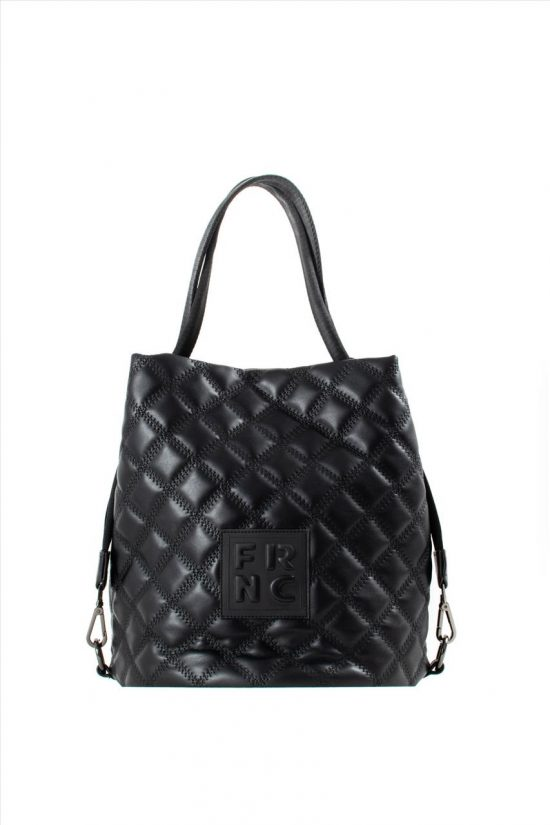 Γυναικεία Τσάντα Ώμου FRNC 1299 BLACK