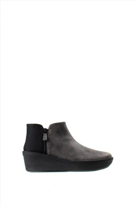 Γυναικεία Ankle Boots CLARKS STEP ROSE UP GREY 26146008