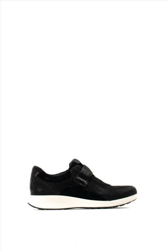 Γυναικεία Nubuck Casual Shoes CLARKS UN ADORN LO BLACK COMBI