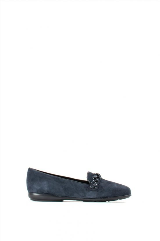 Γυναικεία Δερμάτινα Loafers GEOX ANNYTAH D947NC 00021 C4021