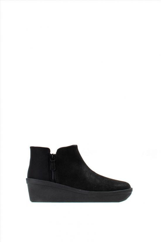 Γυναικεία Ankle Boots CLARKS STEP ROSE UP BLACK