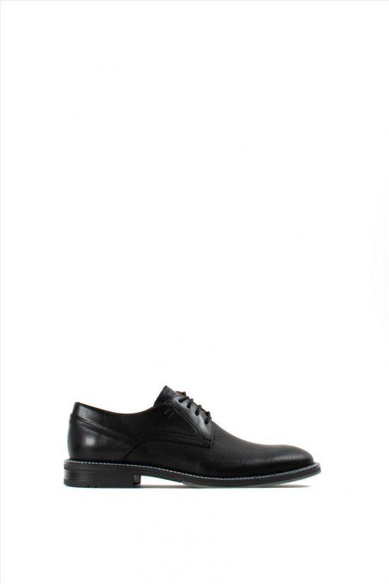 Ανδρικά Δερμάτινα Δετά Παπούτσια DAMIANI 20-01-353 BLACK