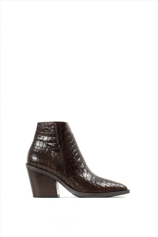 Γυναικεία Ankle Boots SANTE 19-531 BROWN