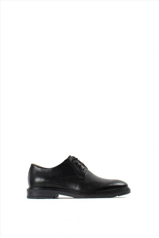 DAMIANIΑνδρικά Δερμάτινα Δετά Παπούτσια 20-01-304 BLACK