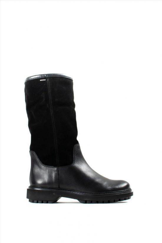 Γυναικείες Δερμάτινες Μπότες GEOX ASHEELY S94AYD 0FF22 C9999