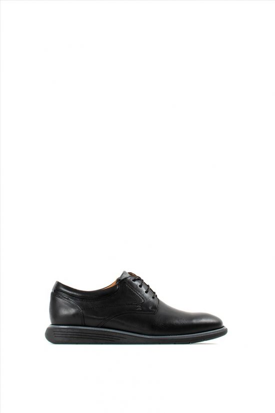 Ανδρικά Δερμάτινα Δετά Παπούτσια DAMIANI 20-01-007 BLACK