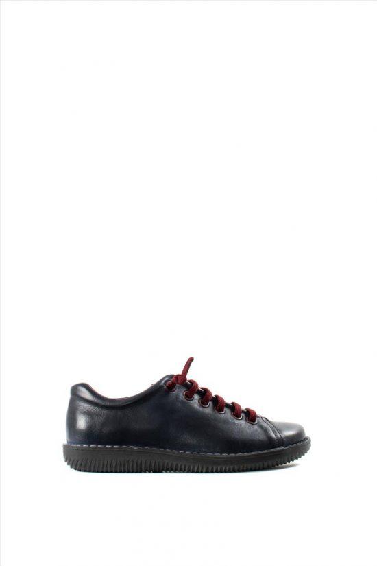 Γυναικεία Δερμάτινα Casual Shoes CHACAL 4800 NAVY