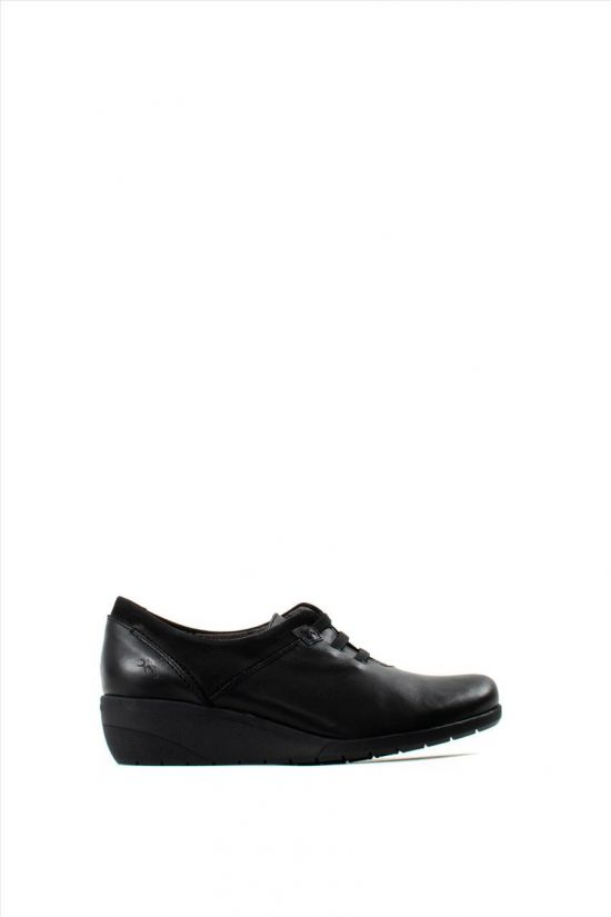 Γυναικεία Δερμάτινα Casual Shoes FLUCHOS F0229 LENA BLACK