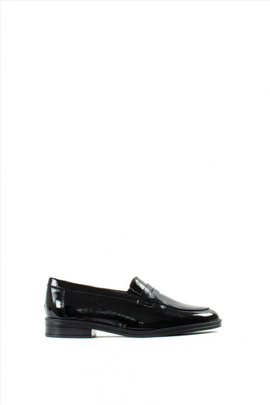Ανδρικά Δερμάτινα Loafers ZAKRO COLLECTION 400 BLACK LOYSTRINI