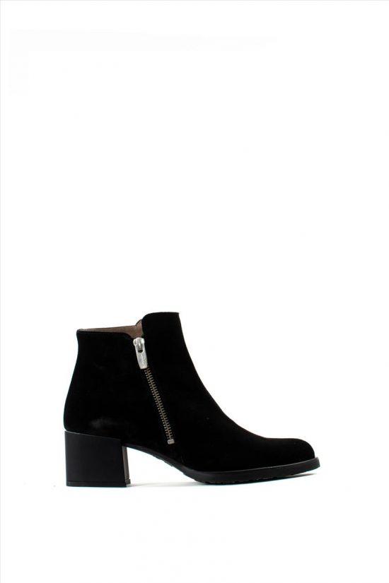 Γυναικεία Καστόρινα Ankle Boots WONDERS H-3520 BLACK