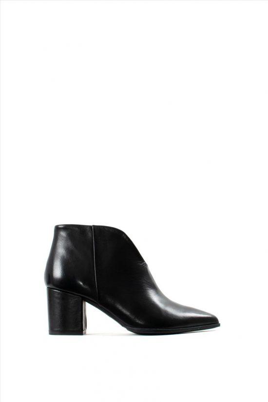 Γυναικεία Δερμάτινα Ankle Boots PAOLA FERRI D4676 VITELLO NERO